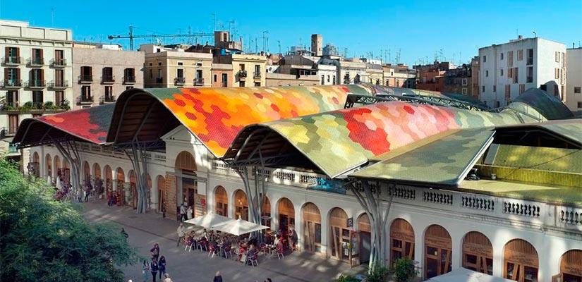 mercados barcelona santa caterina