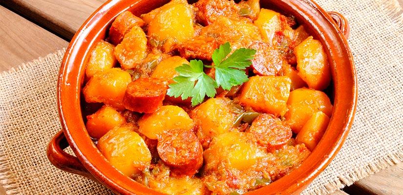 patatas riojana espana fascinante