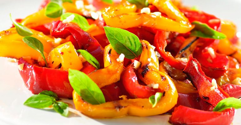 Roasted Pepper Salad Recipe