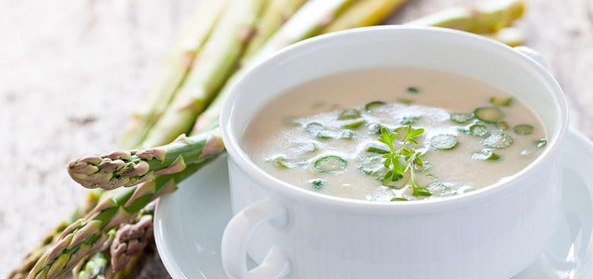 recetas para triunfar crema esparragos blancos