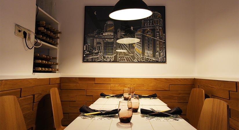restaurante bache mesa
