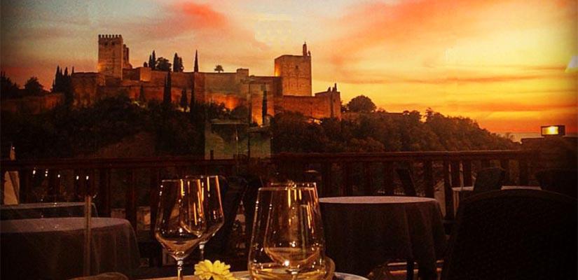 restaurantes con vistas aben humeya