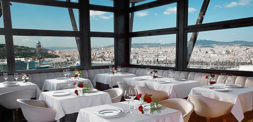 restaurantes con vistas torre alta mar