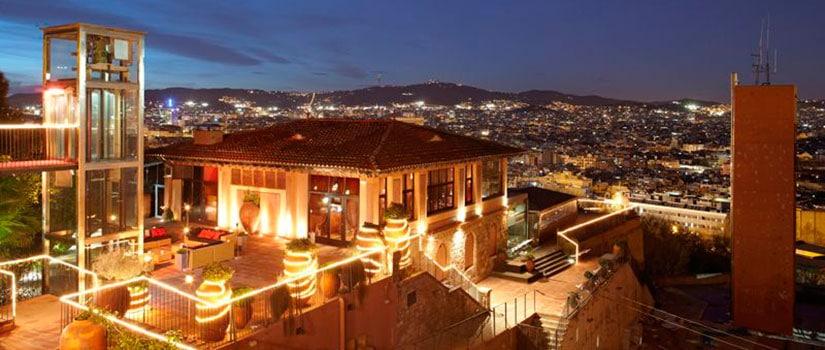 terrazas barcelona xalet montjuic