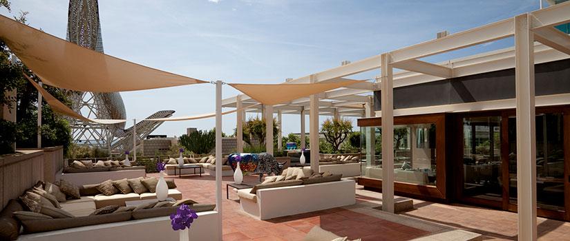 terrazas hoteles barcelona hotel arts