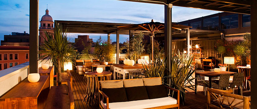 terrazas hoteles barcelona hotel pulitzer