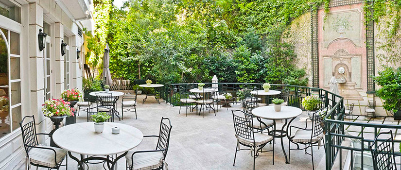 terrazas madrid hotel jardin orfila