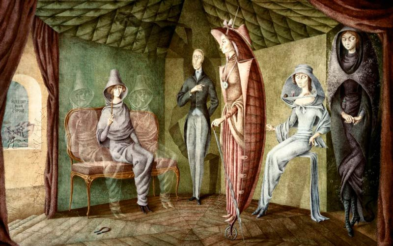 Remedios Varo: Ladies suit