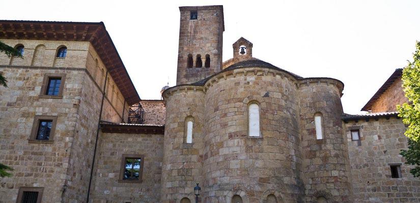 Romanico en Navarra Monasterio de Leyre
