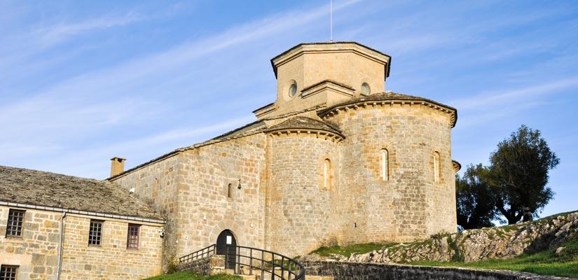 Romanico en Navarra San Miguel de Aralar