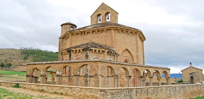 Romanico en Navarra Santa Maria de Eunate