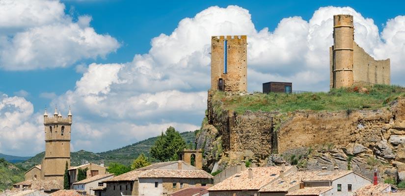 castillos zaragoza uncastillo