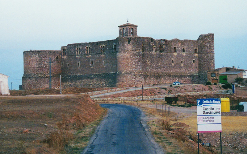 Carretera de Valencia Castillo de Garcimuñoz