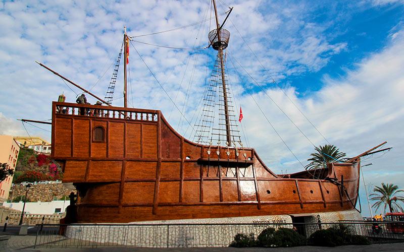 Barco de La Virgen en La Palma