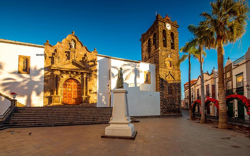 Iglesia del Salvador en La Palma