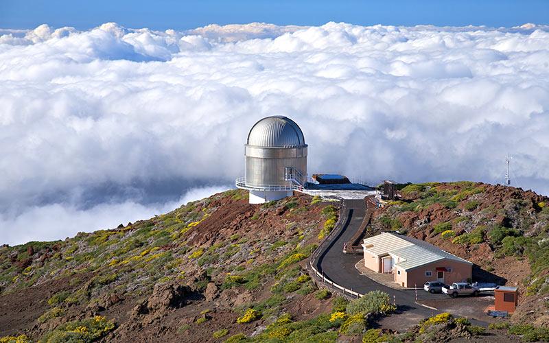observatorio astrofísico del Roque de los Muchachos