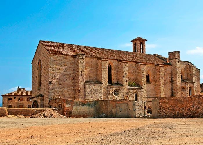iglesia sant francesc montblanc