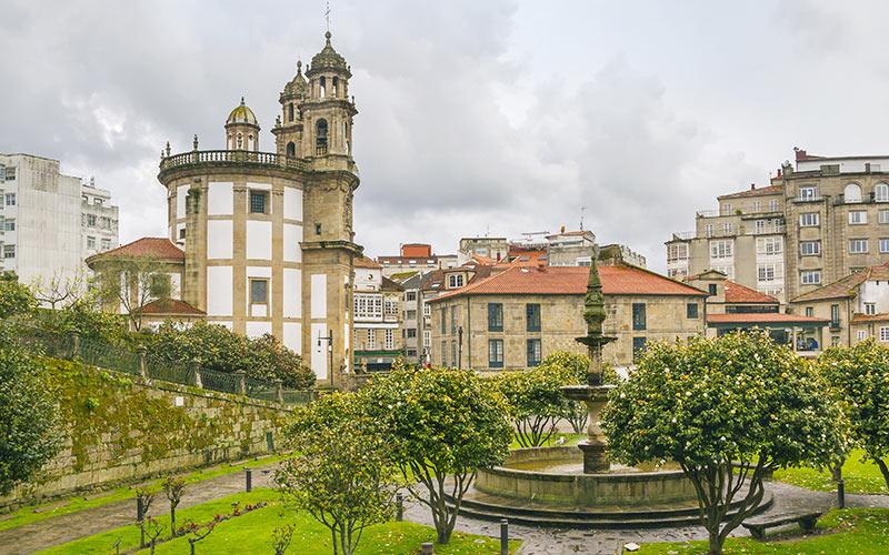 ciudades más lluviosas: Pontevedra