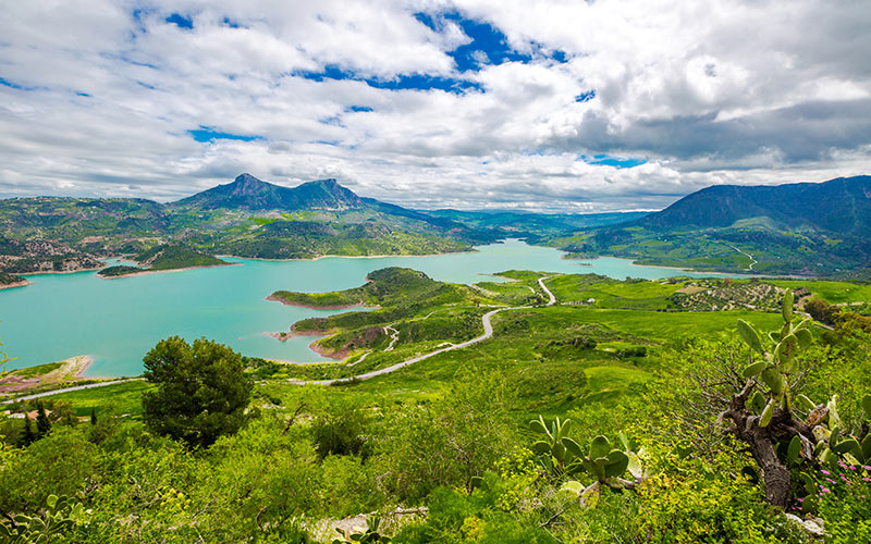 ciudades más lluviosas de España: Sierra de Grazalema