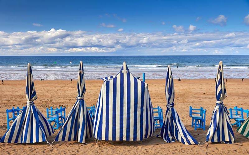 las 7 mejores playas en el camino norte de santiago-zarautz