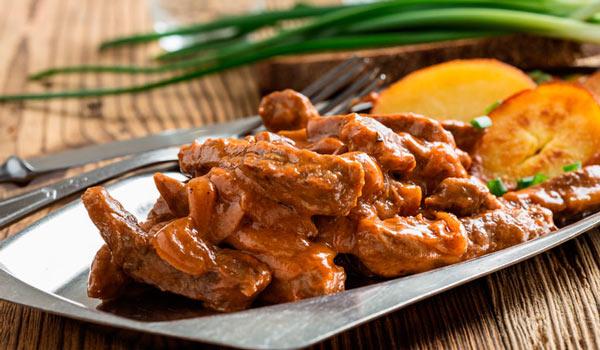 cerdo salsa
