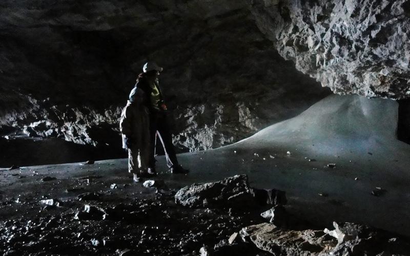 Cueva helada de Casteret