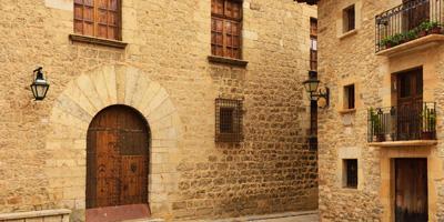 Calles de Mirambel