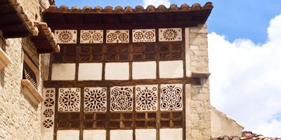 Portal de las Monjas en Mirambel