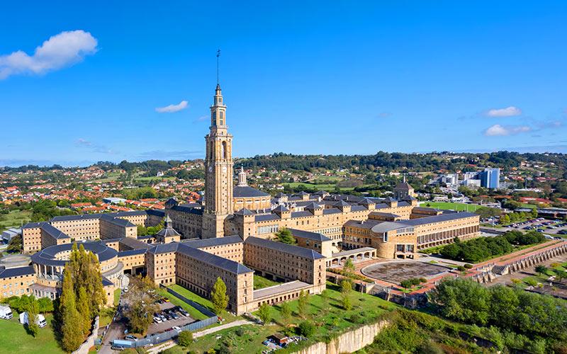 Edificio más alto de España. Universidad Laboral de Gijón