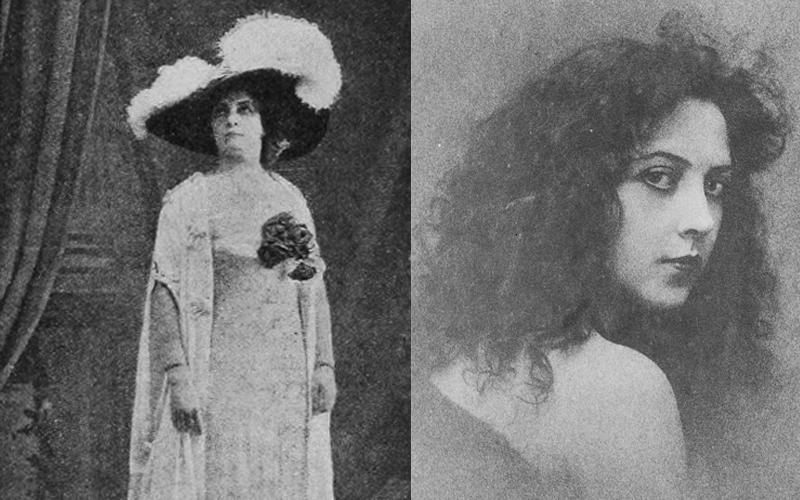 Elena Jordi y Musidora, pioneras del cine español
