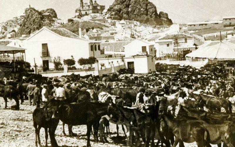 Feria en los años 50
