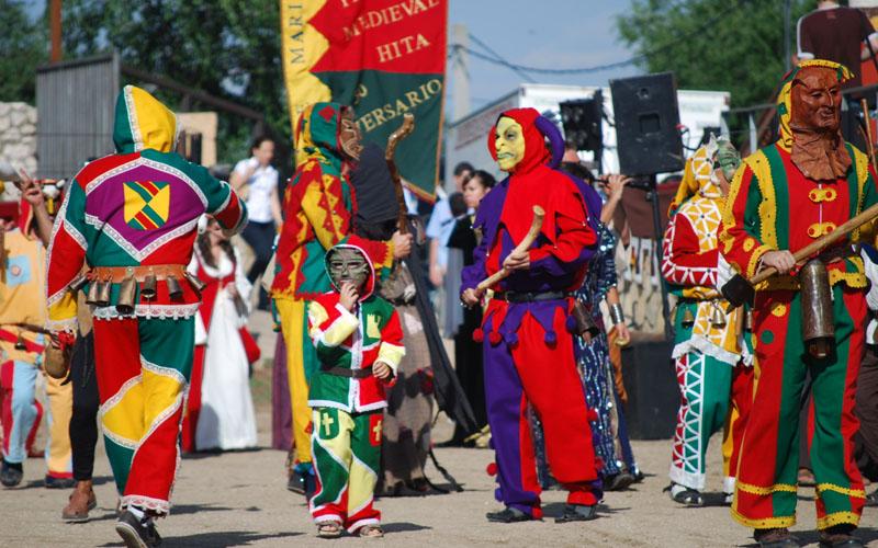 Botargas, personajes enmascarados característicos de Guadalajara