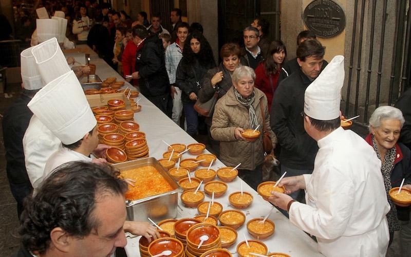 Sopas del Santo. Foto: Segovia Audaz