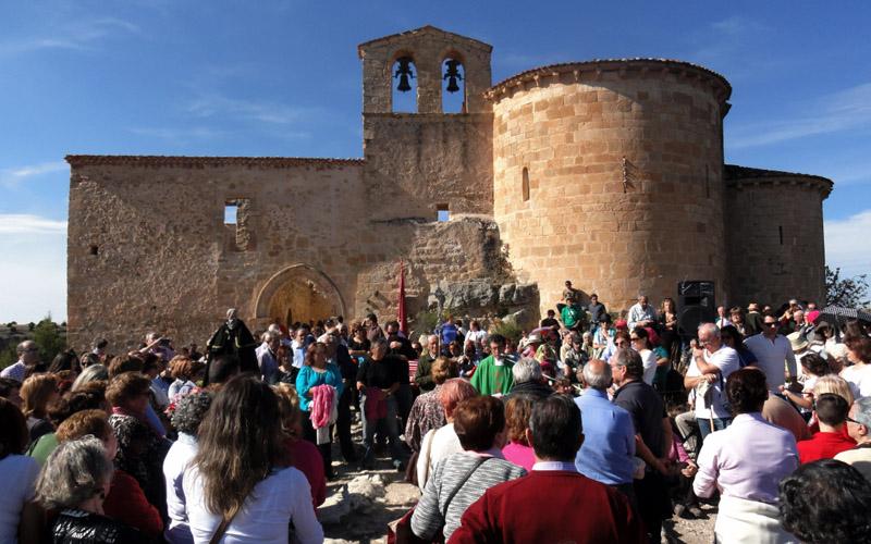 Romería a la Ermita de San Frutos. Foto: Radio Segovia