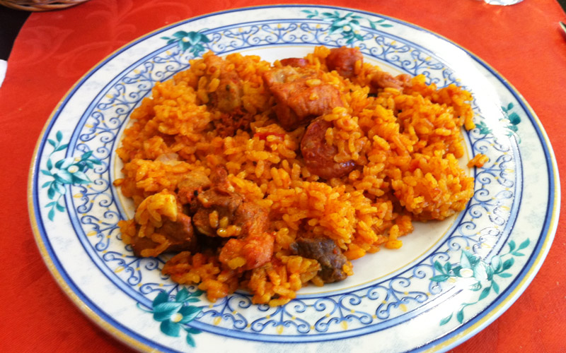 recetas con arroz