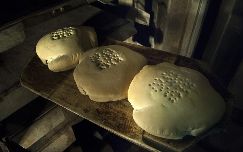 receta de pan de cruz