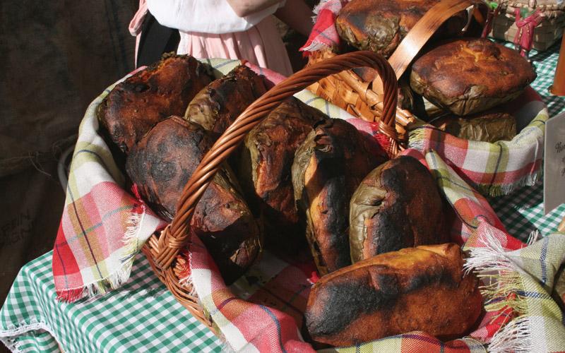 pan boroña en Asturias