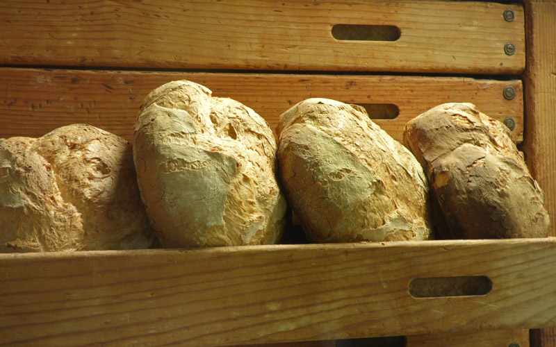 receta de pan de payés