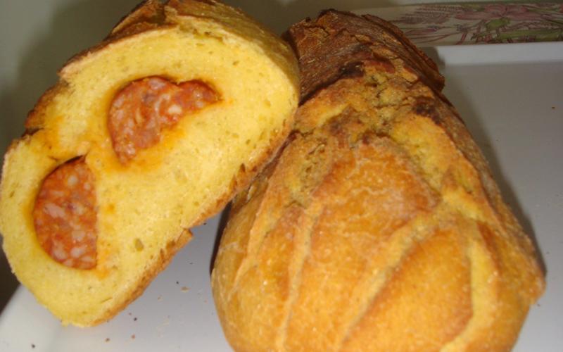receta de pan boroña
