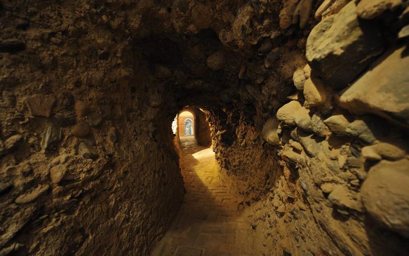 Santas cuevas de la Abadía del sacromonte
