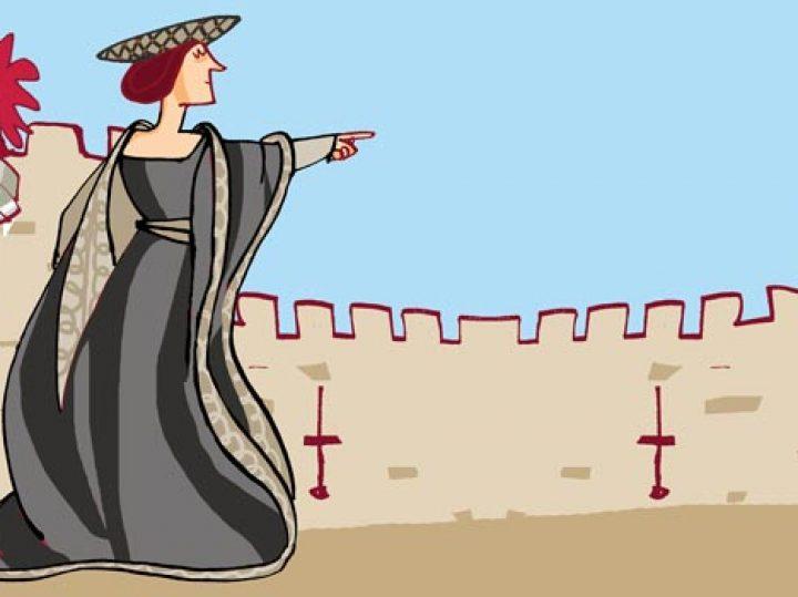 "La brava hembra María Pacheco, ""leona de Castilla"""