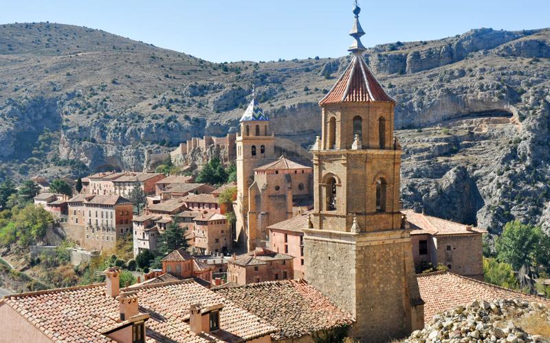 Iglesia de Santiago en Albarracin