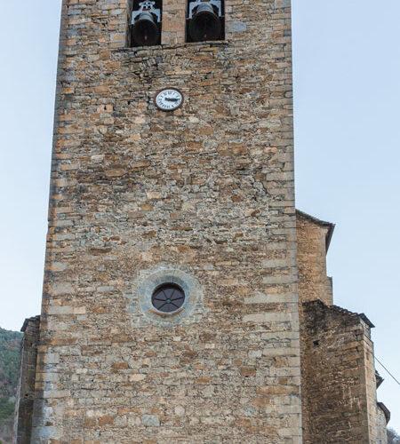Iglesia de San Pedro en Broto