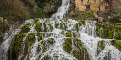 Cascada que hay que ver en Orbaneja del Castillo