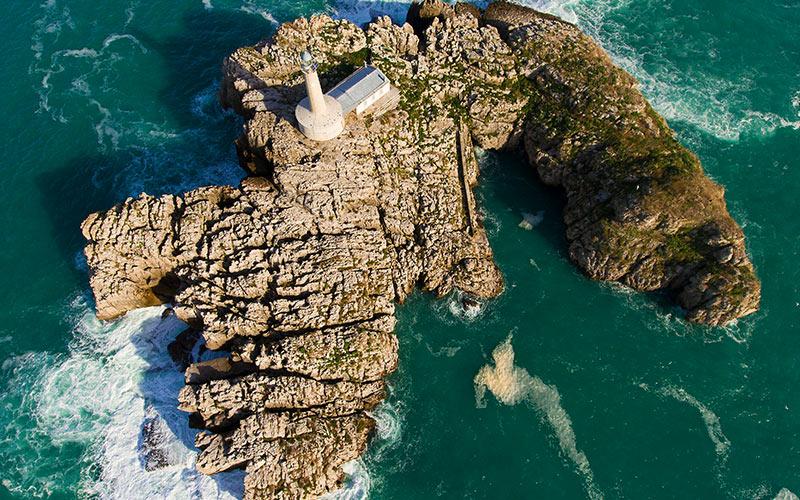 Islas más pequeñas de España Isla de Mouro