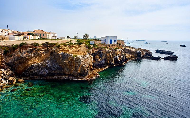 Islas más pequeñas de España Isla de Tabarca