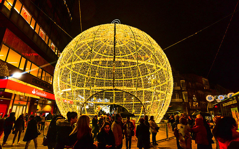 ciudades de España con más luces de navidad: Vigo