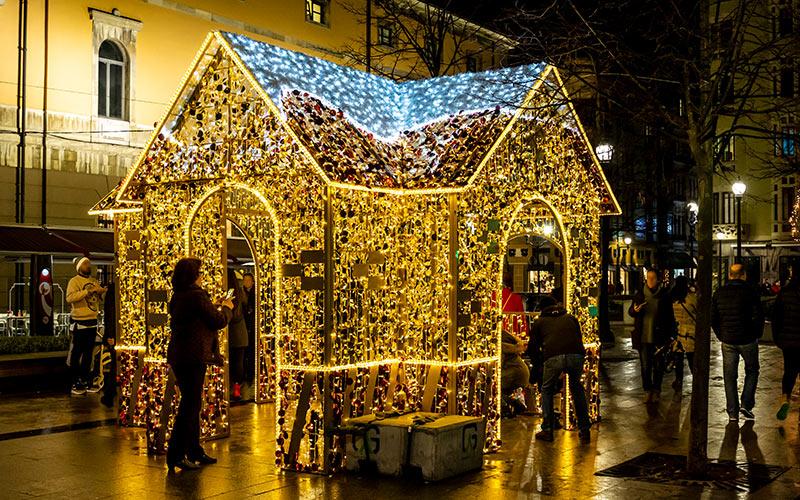 Ciudades de España con más luces de Navidad: Gijón