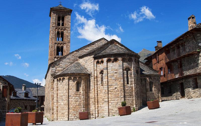 Iglesia de Santa María de Tahull. Foto: Shutterstock