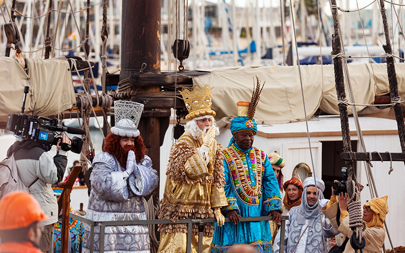 Cabalgatas de Reyes en España Barcelona